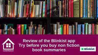 Blinkist - the 'try before you buy' non-fiction book summary app