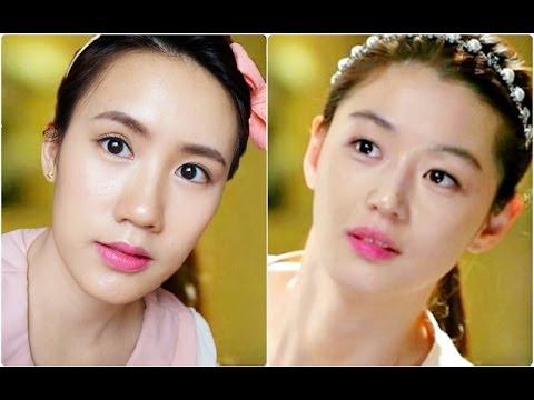 """""""แต่งหน้าไปตามล่าโทมินจุนชิ"""" """"Chun Song Yi"""" make-up [You Who Came From the Stars]"""