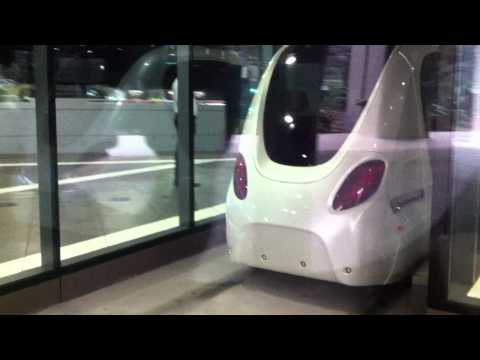 Driverless car powered by solar energy, Abu Dhabi