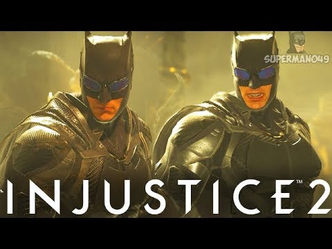 "JUSTICE LEAGUE Batman Epic Gear Set! - Injustice 2 ""Batman"" Justice League Gear Gameplay"