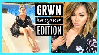 CHIT CHAT GRWM In My Hotel Room | I'm On My Honeymoon!