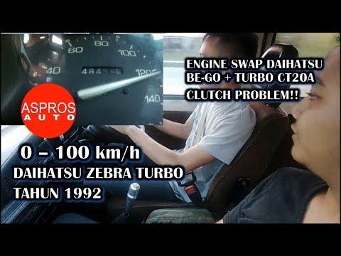 0 - 100 Km/h : ZEBRA TURBO 1992