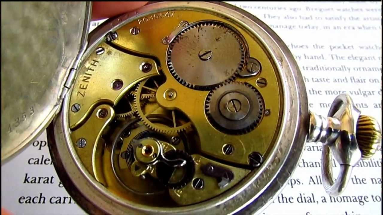27ff64c88864e Zenith grand prix paris 1900 pocket watch 0