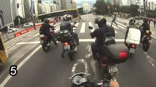 Top 10 ciclistas que não respeitam as leis de transito - Next 250 - Gabriel Narin