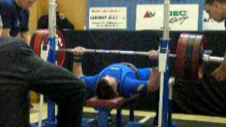 Bench press 227,5 kg CNJR