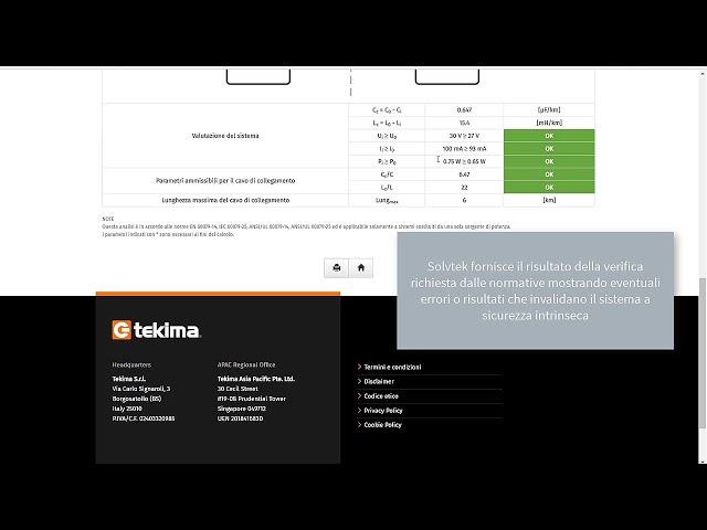 Solvtek Utility 12 - Sicurezza intrinseca | Tekima
