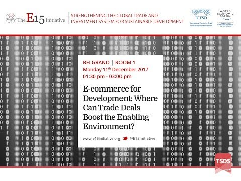 E-commerce for Development: Where Can Trade Deals Boost the Enabling Environment?