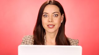 Aubrey Plaza Finds Out How She Would Die In A Horror Movie