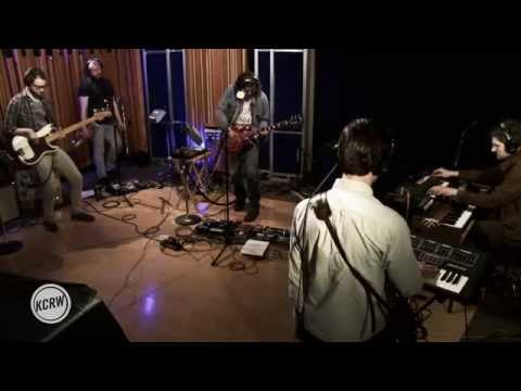 "The War On Drugs performing ""Disappearing""  on KCRW"