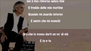 Gambar cover Mi Manchi - Andrea Bocelli & Kenny G - With Lyrics