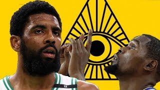 Kevin Durant LIKES Kyrie Irving's CRYPTIC Illuminati Instagram Post!