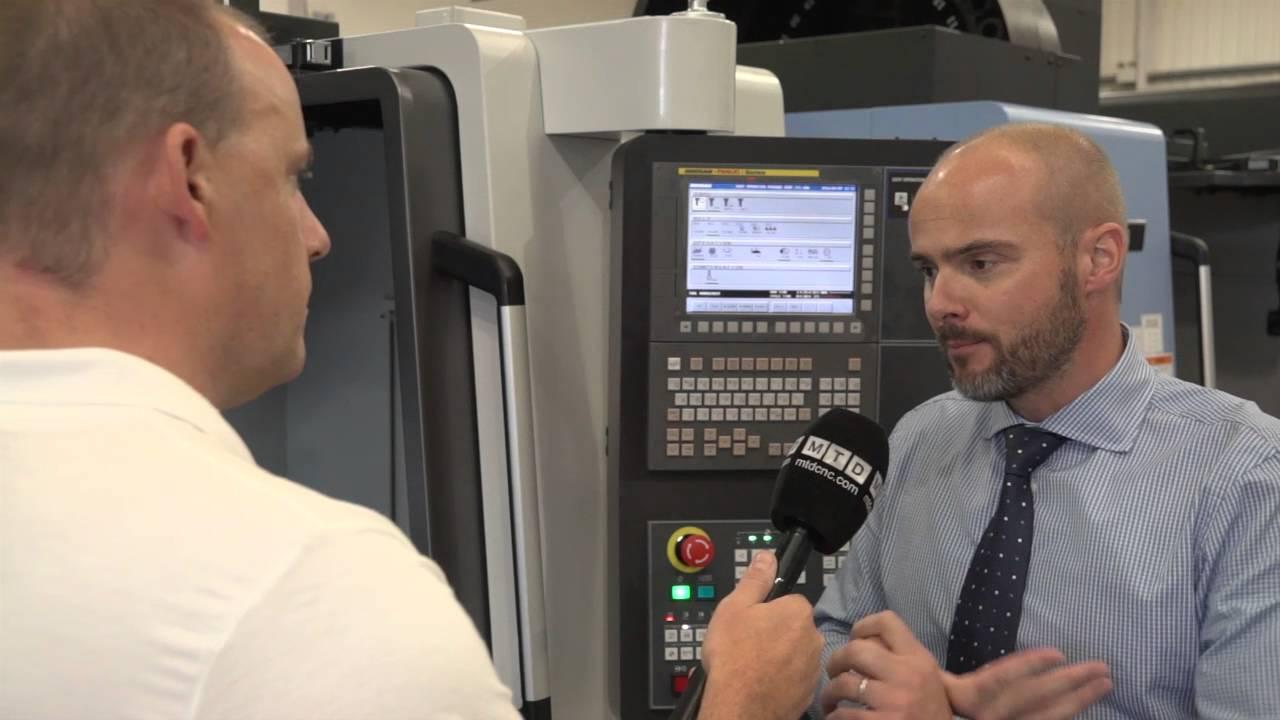 Doosan DNM 4500 VMC new model to Mills CNC Paul talks to Tony Dale