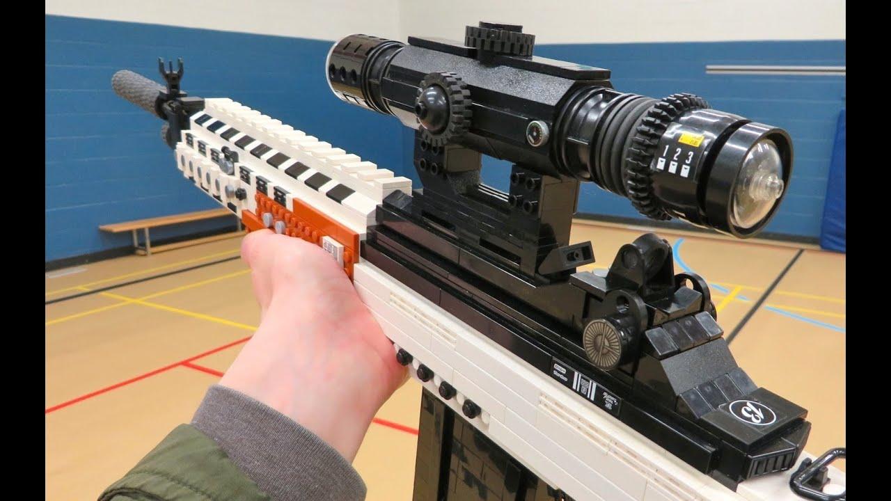 LEGO MK14 EBR - Call of Duty Ghosts - YouTube M14 Ebr Rifle