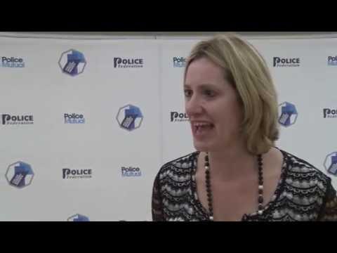 Police Bravery Awards 2016 - Home Secretary Amber Rudd MP