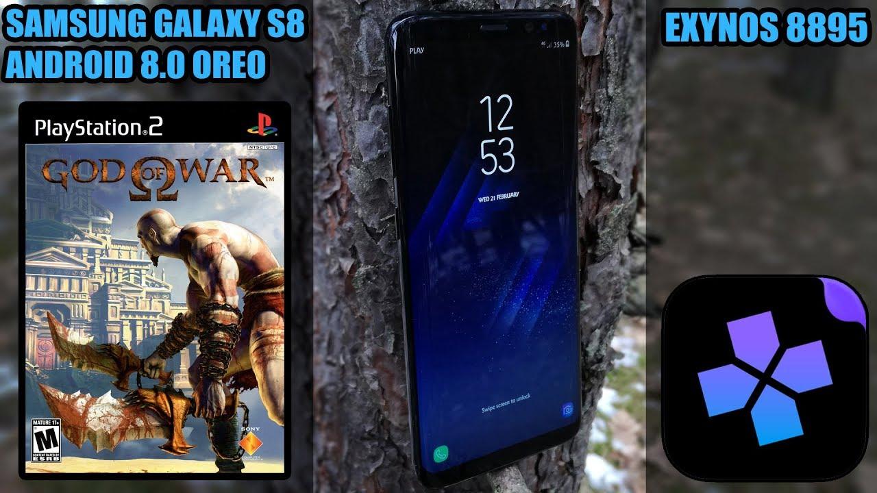 Samsung Galaxy S8 (Exynos, Oreo) - God of War - DamonPS2 Emulator - Test