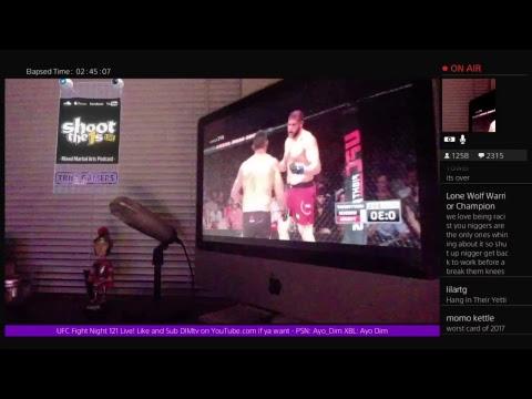 UFC Fight Night 121 Live Chat