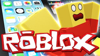 GIANT IPHONE ESCAPE!?! | Roblox Roleplay / Let