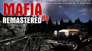 Mafia HD Remastered mod vs Mafia 2002 COMPARISON POR WNANIE