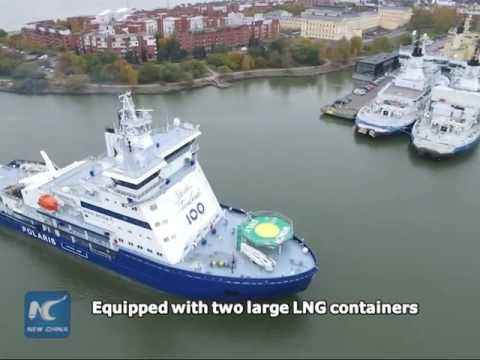 First LNG-powered icebreaker in operation