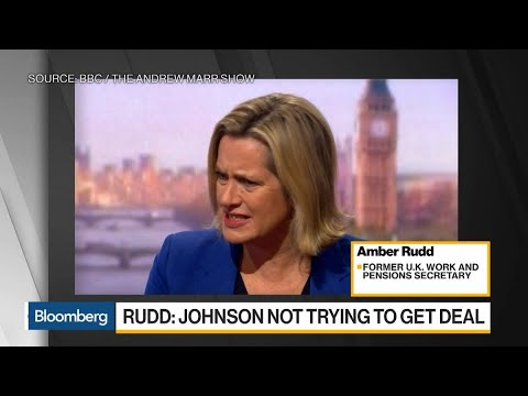 Rudd Quits Boris Johnson's Cabinet With Attack on Brexit Strategy