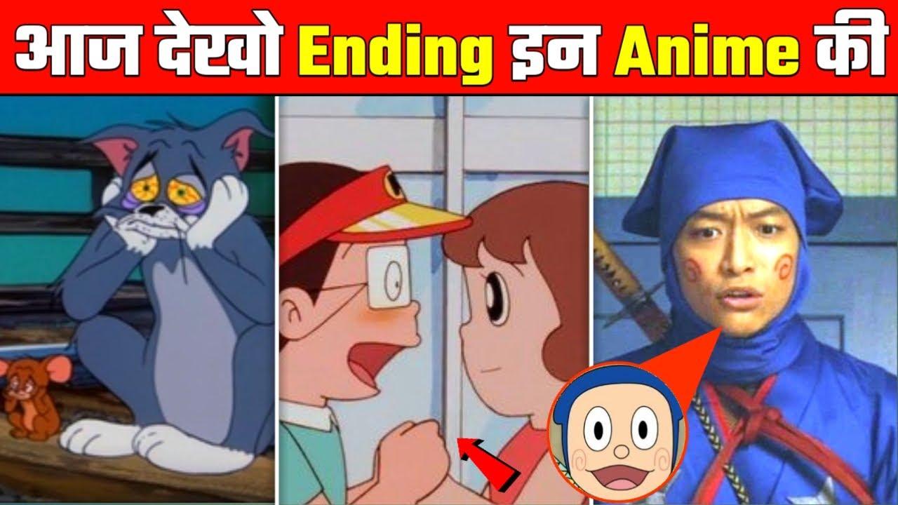 Ninja Hattori,Kiteretsu,Tom and Jerry,Courage Last episode in Hindi | Cartoon Endings No One Seen 😂