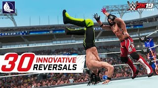 WWE 2K18 Top 30 Most Innovative Reversals in the game