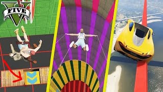 GTA 5 ALLROUND SKILL TEST (+DOWNLOAD) | GTA 5 - CUSTOM MAP RENNEN