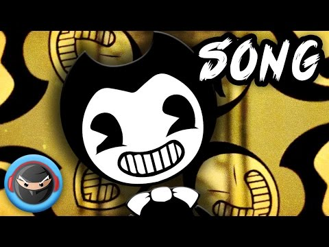 "Thumbnail: BENDY AND THE INK MACHINE SONG ""The Dancing Demon"" by TryHardNinja"