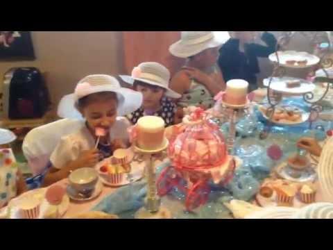 Little Girls Fancy Tea Party