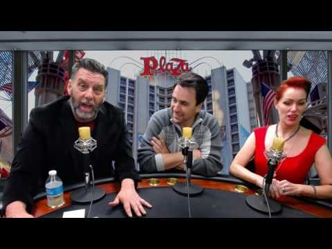 Danny Vegas Show from the Plaza Hotel and Casino. Interview Michael Pergolini, General Manager