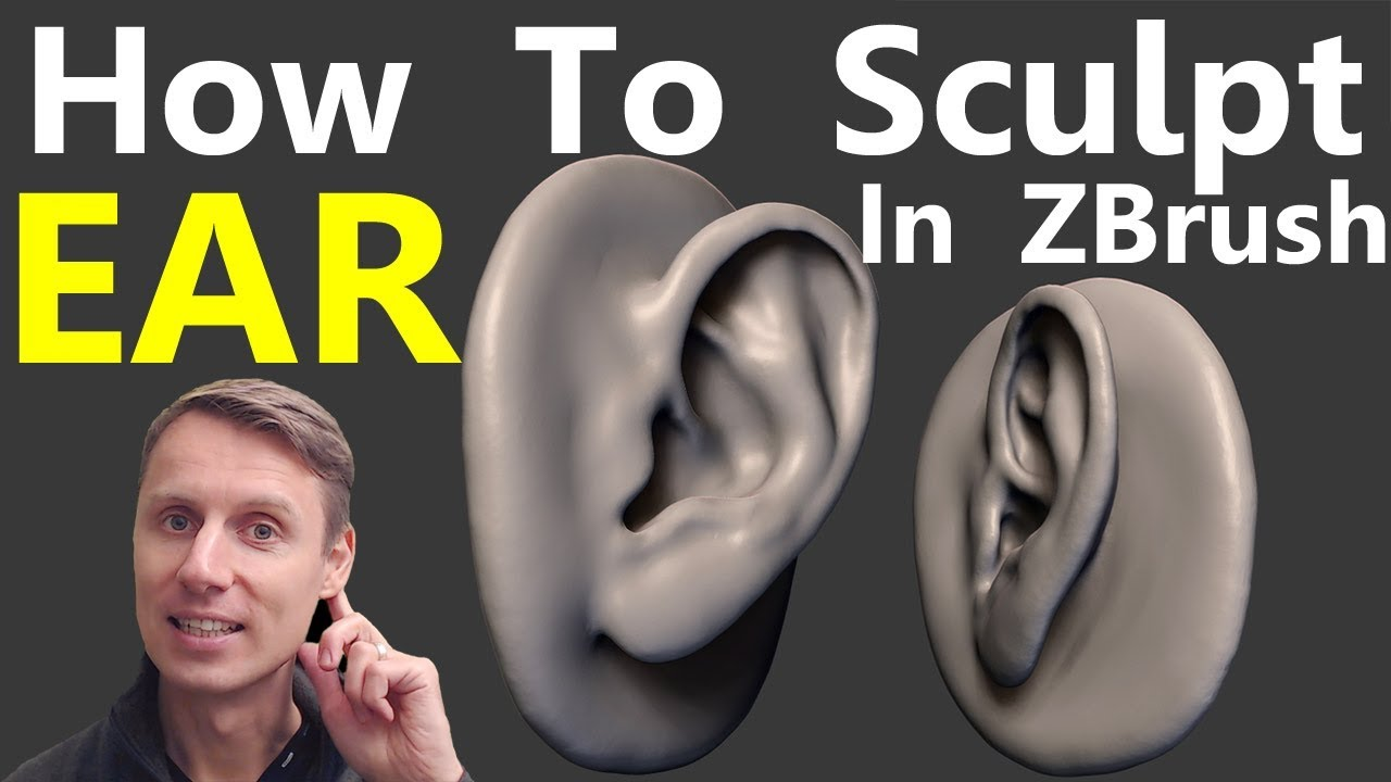 Download How To Sculpt The Ear In Zbrush