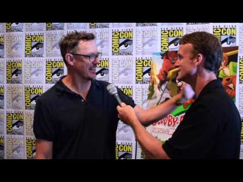 Matthew Lillard Interview at SDCC for Scooby Doo & WWE: Curse of the Speed Demon