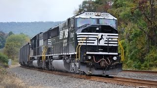 NS 590 Loaded Coal on the NS PITL