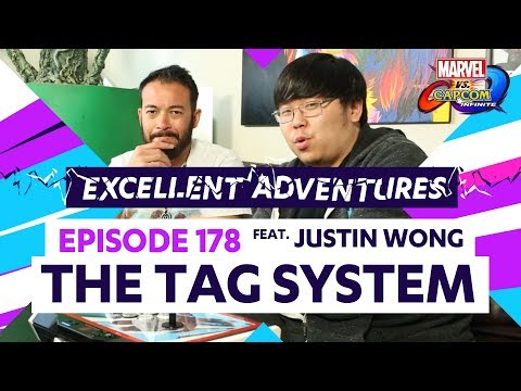 THE TAG SYSTEM ft. Justin Wong! Excellent Adventures Ep. 178 (MvC: Infinite Guide) - 동영상