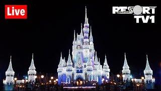 🔴Live: Magic Kingdom at Christmas - 12-8-18 - Walt Disney World Live Stream
