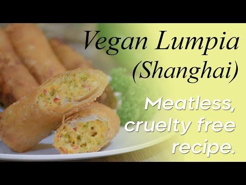 Vegan Lumpia (Shanghai Version)
