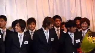 20101205_レイソル練習納め&古邊コーチ退任挨拶