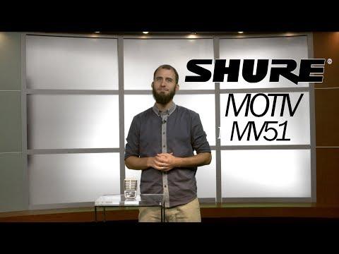 REVIEW: Shure Motiv MV51
