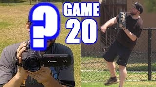 BOBBY PLAYS OUTFIELD & SOMEONE ELSE FILMS! | On-Season Softball Series | Game 20