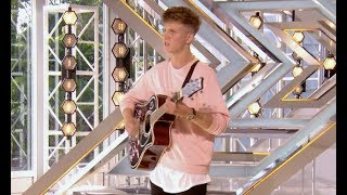 Topher Balne Covers Britney Spears | Audition 2 | The X Factor UK 2017
