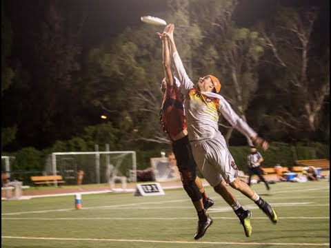 Game Highlights: Los Angeles Aviators at San Francisco FlameThrowers — 2017 AUDL Playoffs