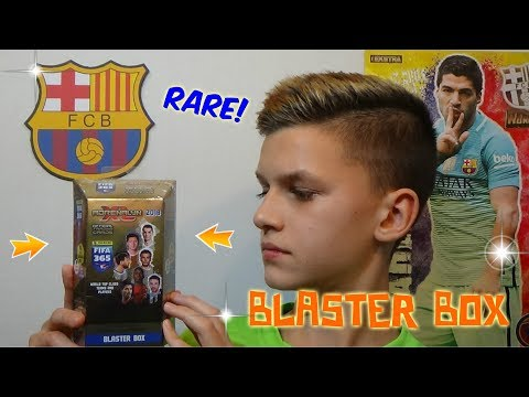 FIRST RARE!!! Panini FIFA 365 2018 BLASTER BOX - Unboxing!