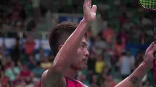 R32 - MS (Highlight) - Lin Dan vs Eric Pang - 2013 BWF World Championships