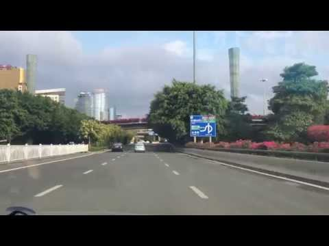 driving in nanning city