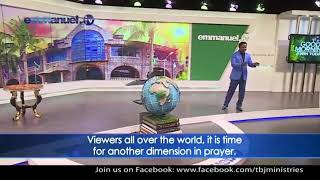 SCOAN 05/07/20 Powerful Prayer with TB Joshua Live From The Emmanuel TV Studio