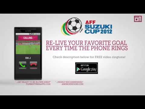 Malaysia's Norshahrul Talaha - Video Ringtone: AFF Suzuki Cup 2012