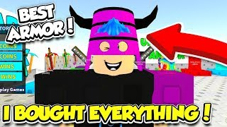 I Bought EVERYTHING For Robux In SKYWARS To Become OVERPOWERED!! (Roblox)