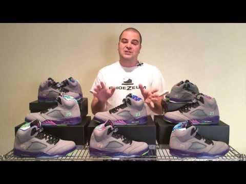 ShoeZeum Fresh Prince of Bel Air Nike Air Jordan 5s