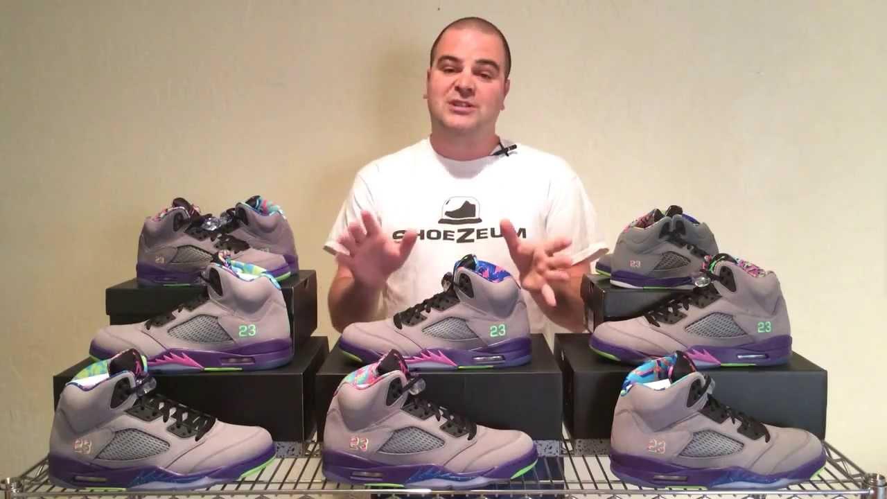 premium selection 46cd4 6d6b3 ShoeZeum Fresh Prince of Bel Air Nike Air Jordan 5s