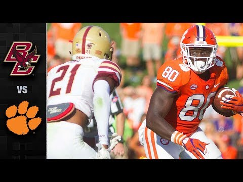 Boston College vs. Clemson Football Highlights (2017)